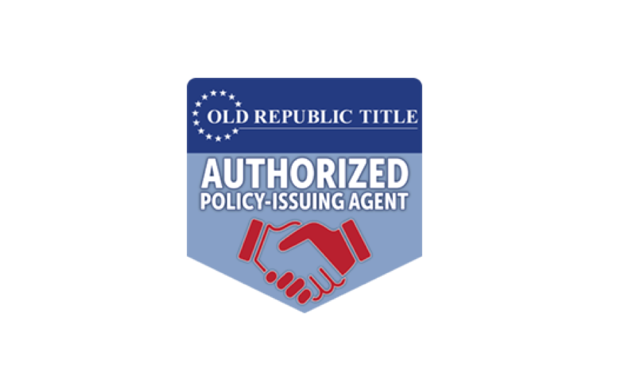 Old Republic Title - Authorized Policy-Issuing Agent