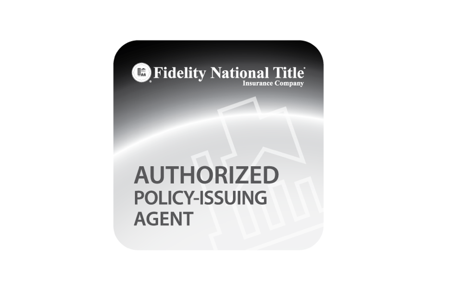 Fidelity National Title Insurance Company - Authorized Agent